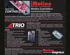 Motion Controllers: Coordinated Movement